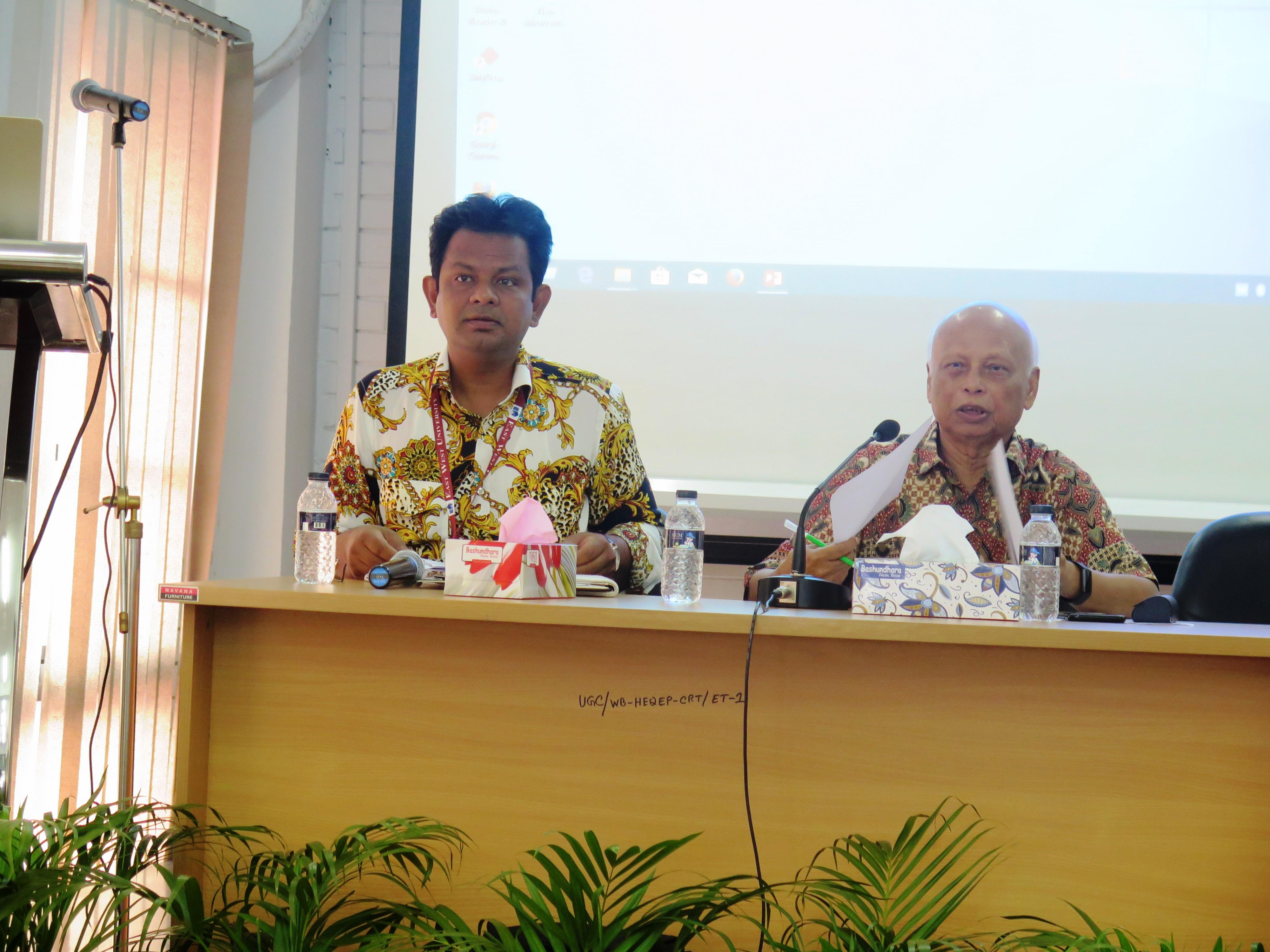 EWU-CRT Organizes a  Knowledge Sharing Seminar