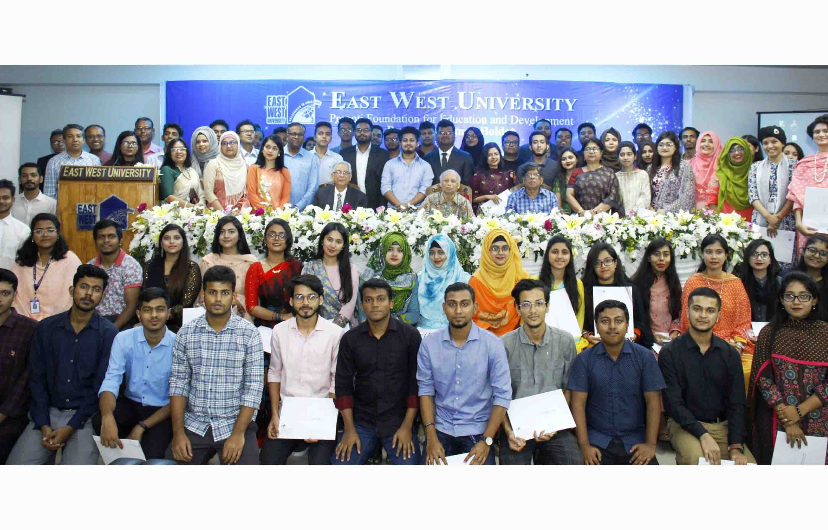 EWU Holds a Merit Scholarship Awarding Ceremony 2019