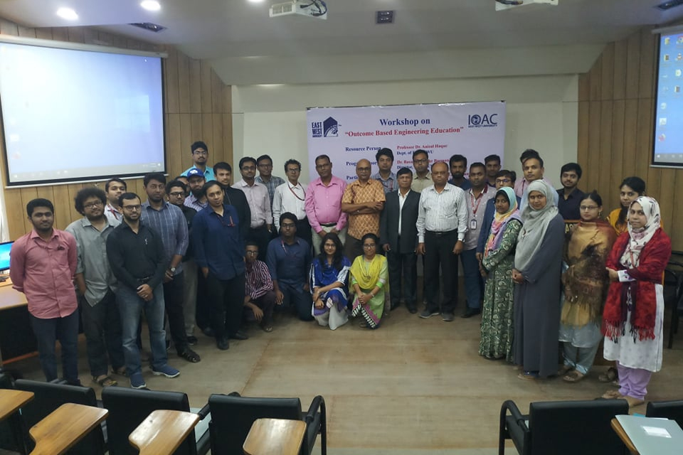 "Workshop on ""Outcome Based Engineering Education"" on 30 November (Saturday), 2019."