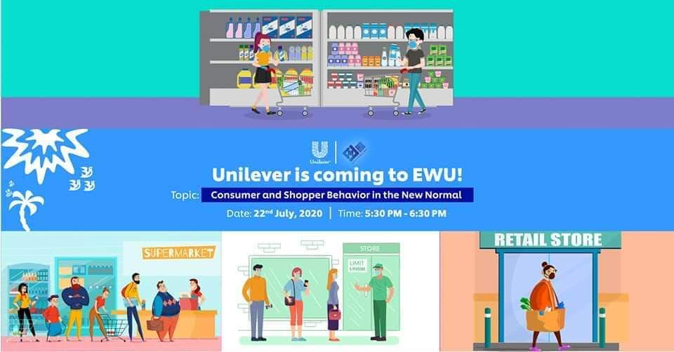 EWUCMC & Unilever Bangladesh enlighten the students about changing consumption pattern in the new no...