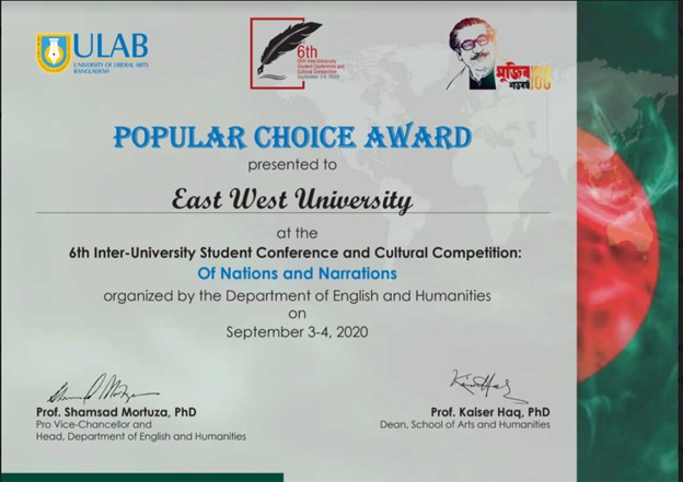 "Department of English (EWU) participated in ""Of Na..."