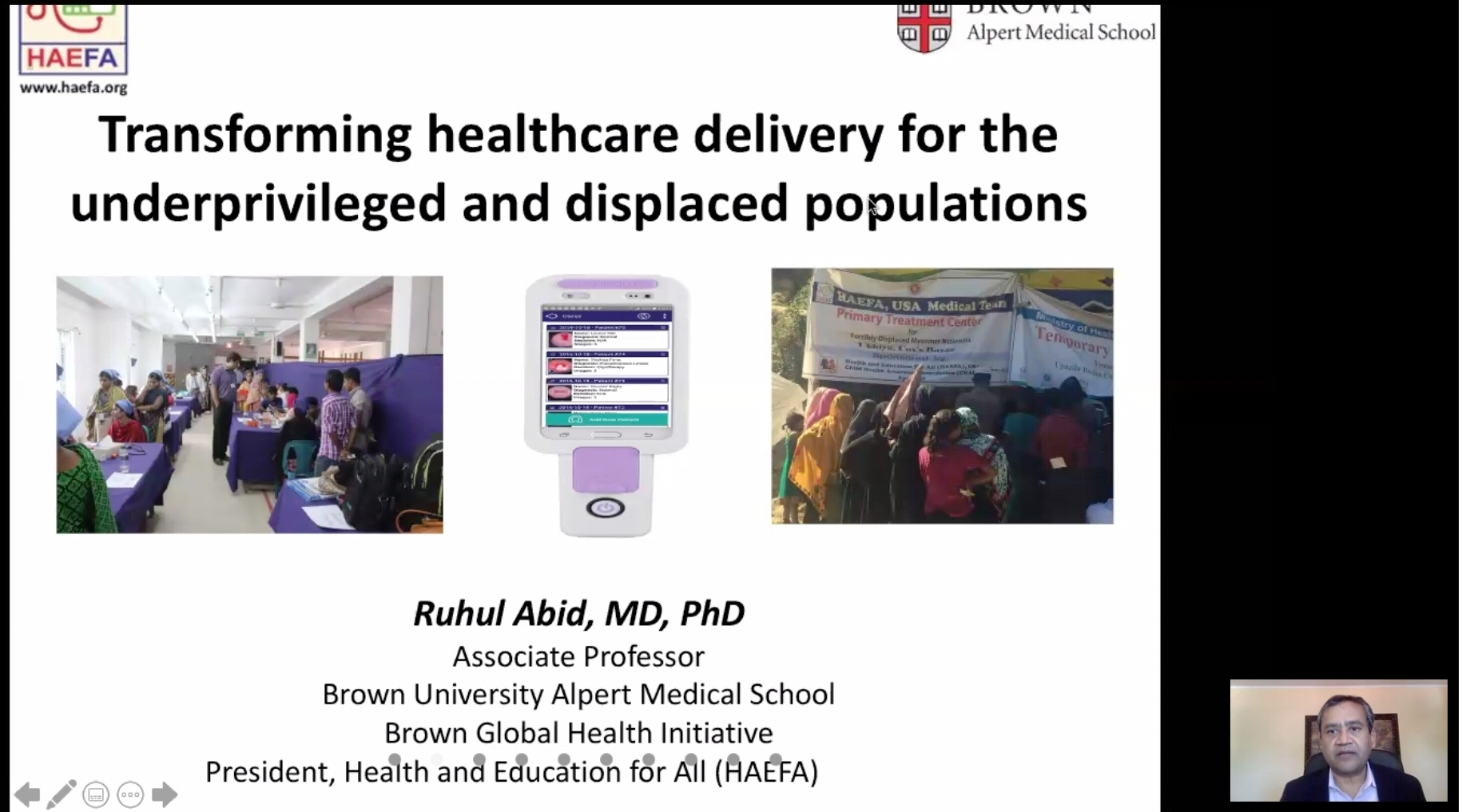 Nobel Nominated Dr. Ruhul Abid Urge to Equity in A...
