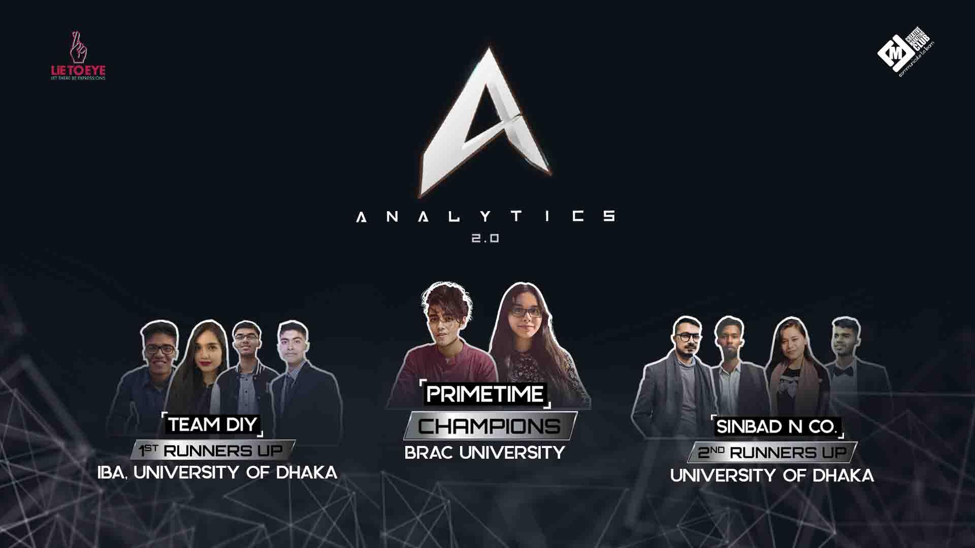 ANALYTICS 2.0 – Nation's Biggest Digital Marketing...